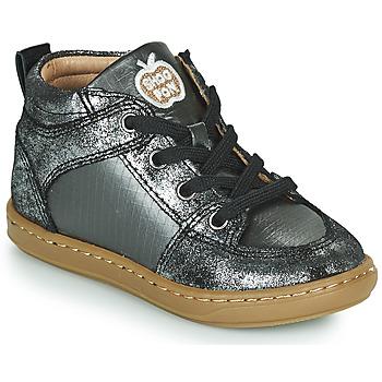Sko Pige Høje sneakers Shoo Pom BOUBA GANG Sølv