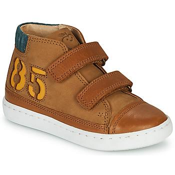 Sko Dreng Høje sneakers Shoo Pom PLAY ALPHA Brun