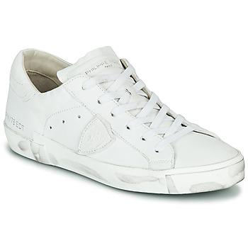 Sko Dame Lave sneakers Philippe Model PARIS X BASIC Hvid