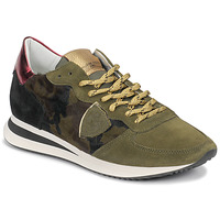 Sko Dame Lave sneakers Philippe Model TROPEZ Camouflage