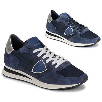 Sko Dame Lave sneakers Philippe Model TROPEZ Marineblå