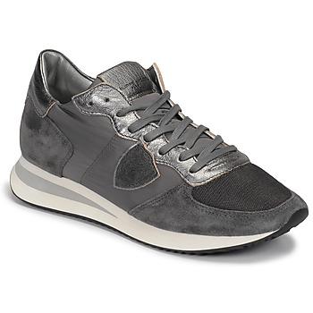 Sko Dame Lave sneakers Philippe Model TROPEZ Grå