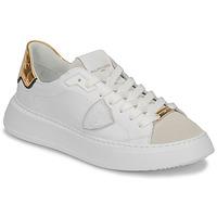 Sko Dame Lave sneakers Philippe Model TEMPLE Hvid