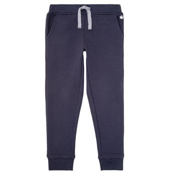 textil Dreng Træningsbukser Petit Bateau LOMINIKO Marineblå