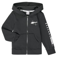 textil Dreng Sweatshirts Puma ALPHA HOODED JACKET Sort