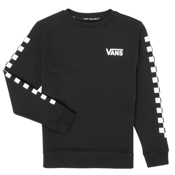 textil Børn Sweatshirts Vans EXPOSITION CHECK CREW Sort