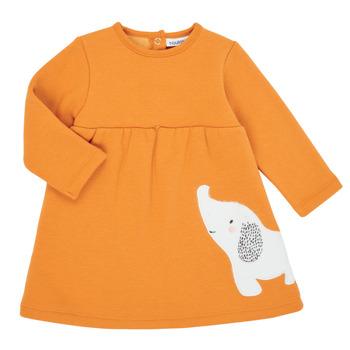 textil Pige Korte kjoler Noukie's Z050083 Orange