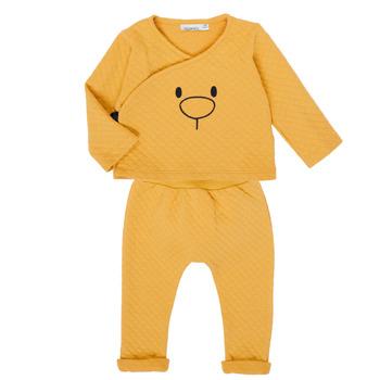 textil Pige Sæt Noukie's Z050377 Gul
