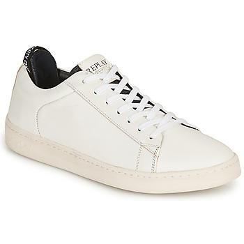 Sko Herre Lave sneakers Replay BLOG ERIK Hvid