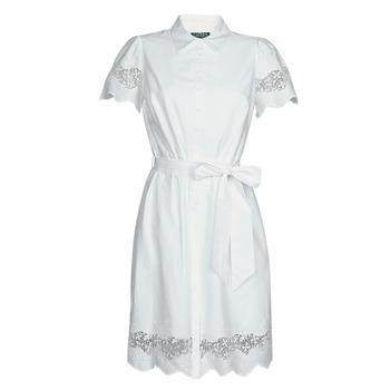 textil Dame Korte kjoler Lauren Ralph Lauren DORTHIA Hvid