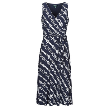 textil Dame Lange kjoler Lauren Ralph Lauren CARANA Marineblå
