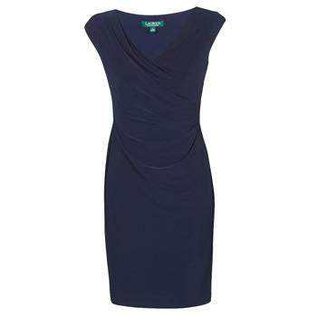 textil Dame Korte kjoler Lauren Ralph Lauren BRANDIE Marineblå