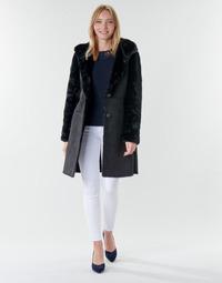 textil Dame Frakker Lauren Ralph Lauren COMBO FX SH-COAT Sort
