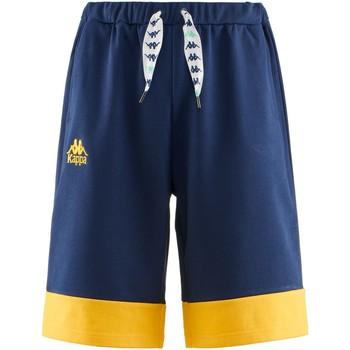 textil Dreng Shorts Kappa 304S4S0Y Blu/giallo