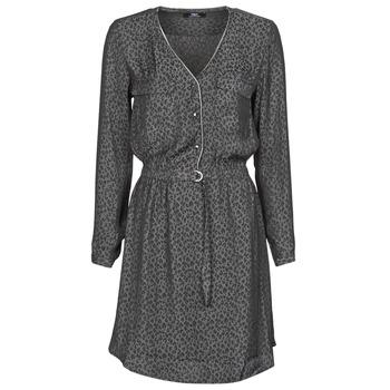 textil Dame Korte kjoler Le Temps des Cerises RABA Grå / Sort