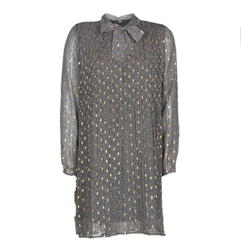 textil Dame Korte kjoler Le Temps des Cerises CHANI Grå