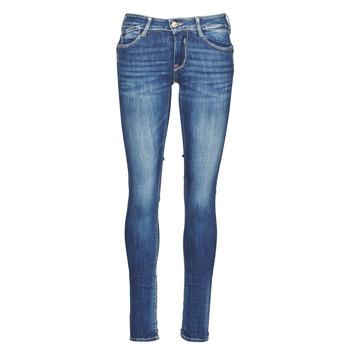 textil Dame Smalle jeans Le Temps des Cerises PULP Blå