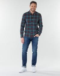 textil Herre Lige jeans Le Temps des Cerises 812 BASIC Blå