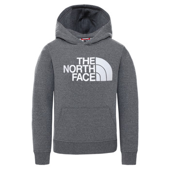 textil Børn Sweatshirts The North Face DREW PEAK HOODIE Grå