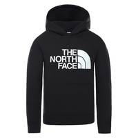 textil Børn Sweatshirts The North Face DREW PEAK HOODIE Sort