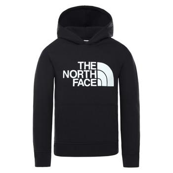 textil Børn Sweatshirts The North Face DREW PEAK HOODIE Sort