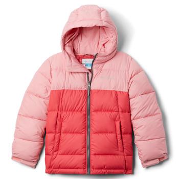 textil Pige Dynejakker Columbia PIKE LAKE JACKET Pink