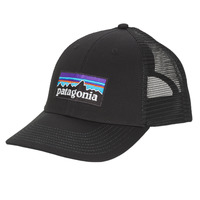 Accessories Herre Kasketter Patagonia P-6 LOGO LOPRO TRUCKER HAT Sort