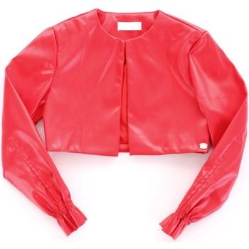 textil Pige Jakker i læder / imiteret læder Byblos Blu BJ14994 Rosso