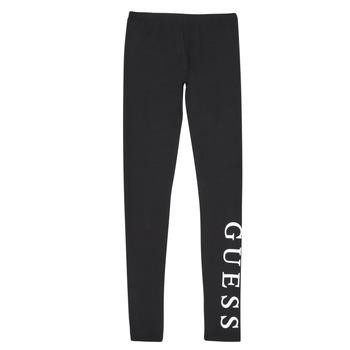 textil Pige Leggings Guess J94B16-K82K0-JBLK Sort