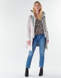 textil Dame Frakker Oakwood LILIANA BI Elfenben / Grå