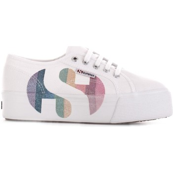 Sko Dame Lave sneakers Superga S11181W Bianco/multicolor