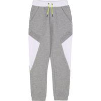 textil Dreng Træningsbukser BOSS J24664 Grå