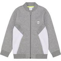 textil Dreng Sweatshirts BOSS J25G80 Grå