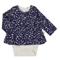 textil Pige Toppe / Bluser Absorba 9R60002-04-B Marineblå