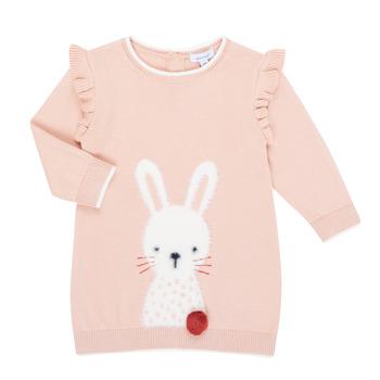 textil Pige Korte kjoler Absorba 9R30092-312-B Pink