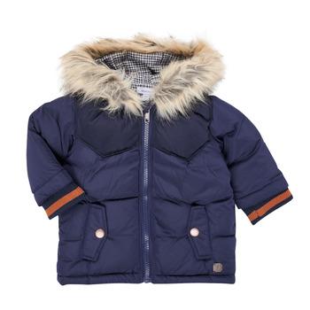 textil Dreng Parkaer Absorba 9R42062-04-B Marineblå