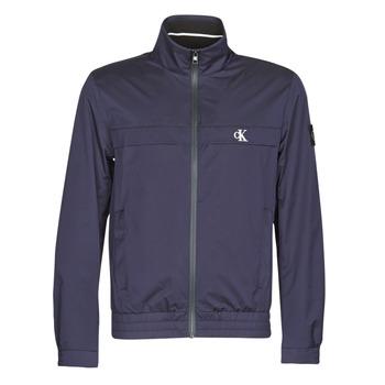 textil Herre Jakker Calvin Klein Jeans ZIP UP HARRINGTON Marineblå