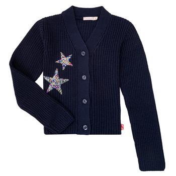 textil Pige Veste / Cardigans Billieblush / Billybandit U15758 Blå
