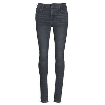 textil Dame Jeans - skinny Levi's 720 HIGH RISE SUPER SKINNY Røgfarvet / Out