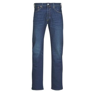 textil Herre Lige jeans Levi's 501 Levi's ORIGINAL FIT Blå