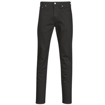 textil Herre Smalle jeans Levi's 512 SLIM TAPER Sort