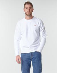 textil Herre Sweatshirts Levi's NEW ORIGINAL CREW Hvid