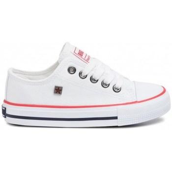 Sko Børn Lave sneakers Big Star FF374200 Hvid