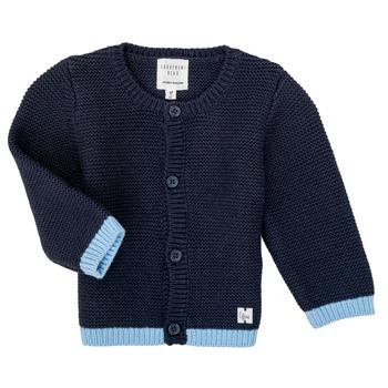 textil Pige Veste / Cardigans Carrément Beau Y95230 Blå