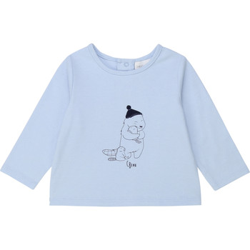 textil Dreng Langærmede T-shirts Carrément Beau Y95249 Blå