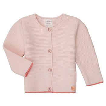 textil Pige Veste / Cardigans Carrément Beau Y95225 Pink