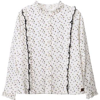 textil Pige Toppe / Bluser Carrément Beau Y15356 Hvid