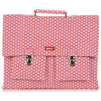 Tasker Pige Skoletasker Bakker Made With Love CARTABLE BIG CANVAS Pink