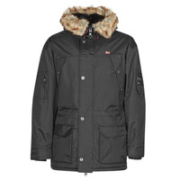 textil Herre Parkaer Geographical Norway ABIOSAURE Sort