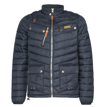 textil Herre Parkaer Geographical Norway ARIE Marineblå